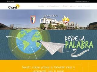 Captura de pantalla para claretsevilla.org