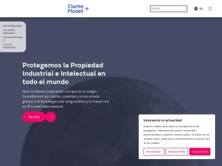 Captura de pantalla para clarkemodet.com.ve