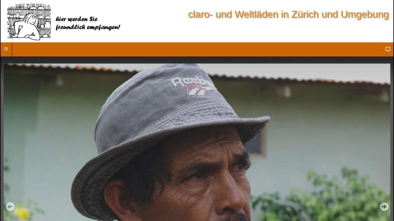 www.claroweltladen.ch Vorschau, claro Weltladen