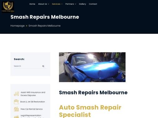 Mercedes Benz Smash Repairs Melbourne