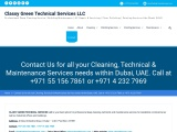 Professional Cleaning Services Abu Dhabi