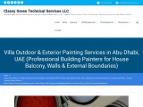 Exterior Painting Services Abu Dhabi