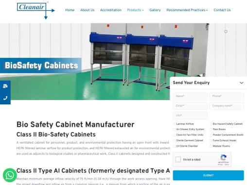 Bio Safety Cabinet CLASS II