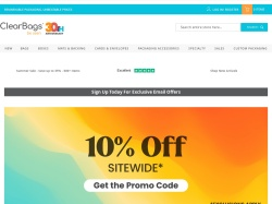ClearBags coupon codes September 2018