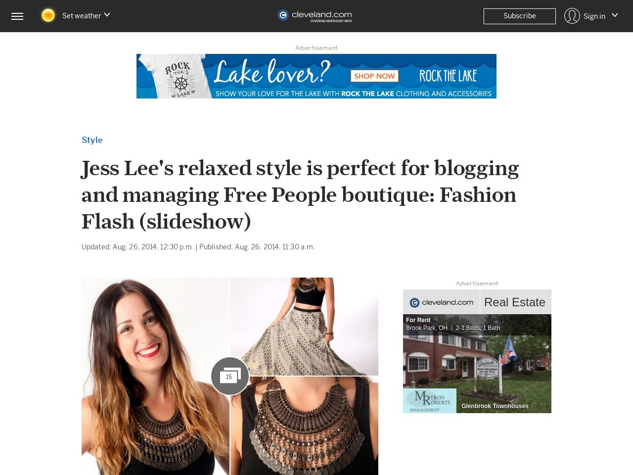 Jess Lee's relaxed style is perfect for blogging and managing Free People …