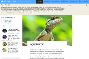clever-pets im web