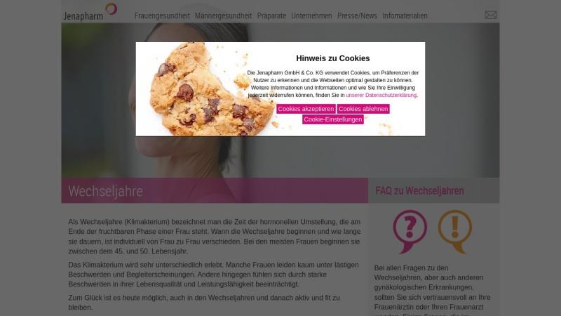 www.climodien.de Vorschau, Wechseljahre: Wege zu neuem Denken