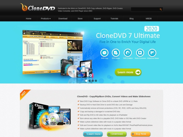 Clonedvd Coupon Codes screenshot