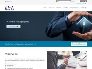 Screenshot for cmainfo.co.za
