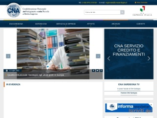 Screenshot del sito cnasarda.it