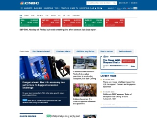 Screenshot for cnbc.com