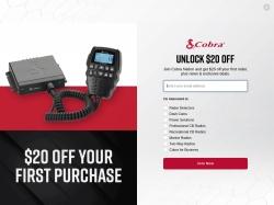 Cobra Electronics screenshot