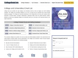 College and Universities Email List   Database of Colleges and Universities