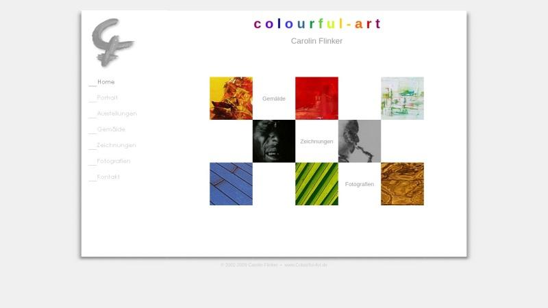 www.colourful-art.de Vorschau, Flinker, Carolin