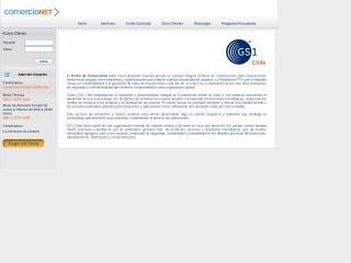 Captura de pantalla para comercionet.cl