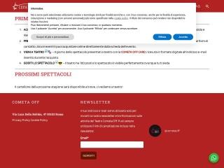 screenshot cometa.org