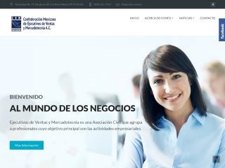 Captura de pantalla para comev.com.mx