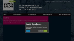 www.comic-salon.de Vorschau, Internationale Kunstmesse Ausstellung Thema Comic