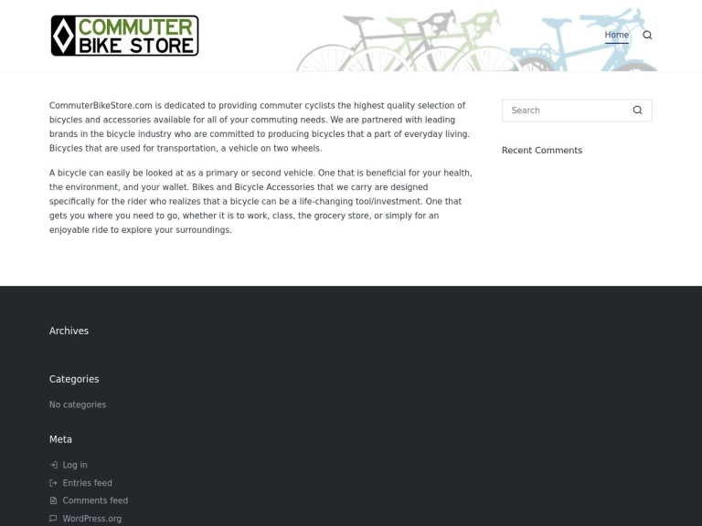 Commuter Bike Store screenshot
