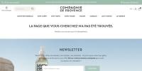 Code promo Compagnie de Provence et bon de réduction Compagnie de Provence