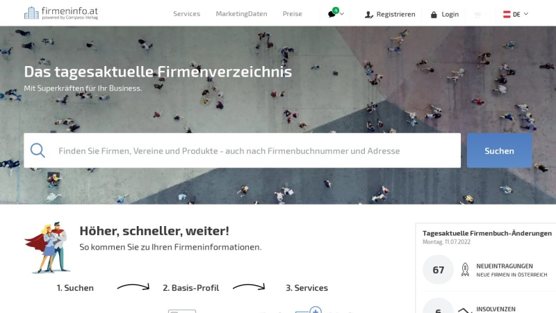 www.compnet.at Vorschau, Compnet.at