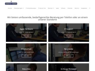 Screenshot der Website compu-trade.ch