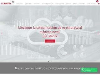 Captura de pantalla para conatel.com.uy