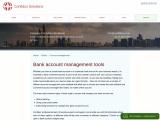 Bank account management tools, Confidus Solutions