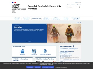 Screenshot for consulfrance-sanfrancisco.org