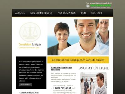 Consultations-Juridiques : avocats en ligne