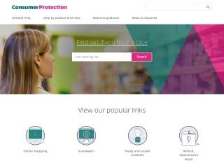 Screenshot for consumeraffairs.govt.nz