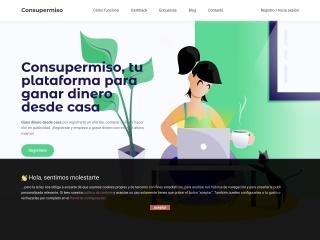 Captura de pantalla para consupermiso.com.mx