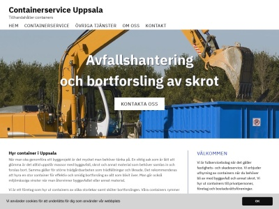 www.containerserviceuppsala.se