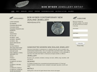 Screenshot for contemporaryjewellery.co.nz