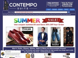 ContempoSuits coupon codes April 2018