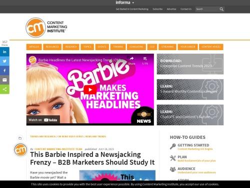 http://www.contentmarketinginstitute.com/