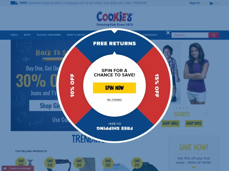 CookiesKids Coupon Codes