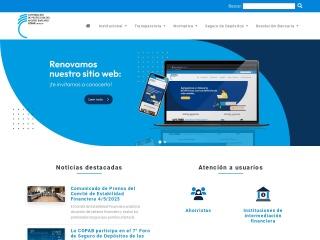 Captura de pantalla para copab.org.uy