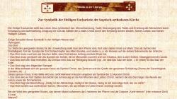 www.coptic-churches.ch Vorschau, Koptische Liturgie