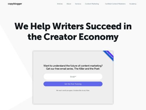 http://www.copyblogger.com/