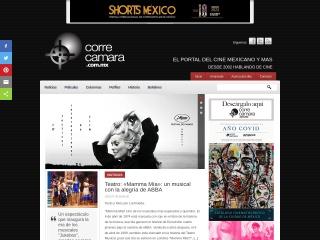 Captura de pantalla para correcamara.com.mx