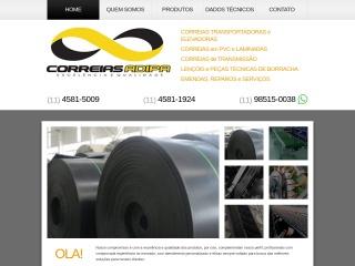 Screenshot do site correiasadipa.com.br