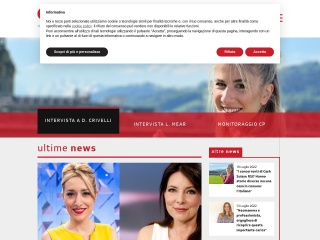 Screenshot der Website corsi-rsi.ch
