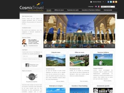 Cosmic Travel : agence de voyage à Marrakech