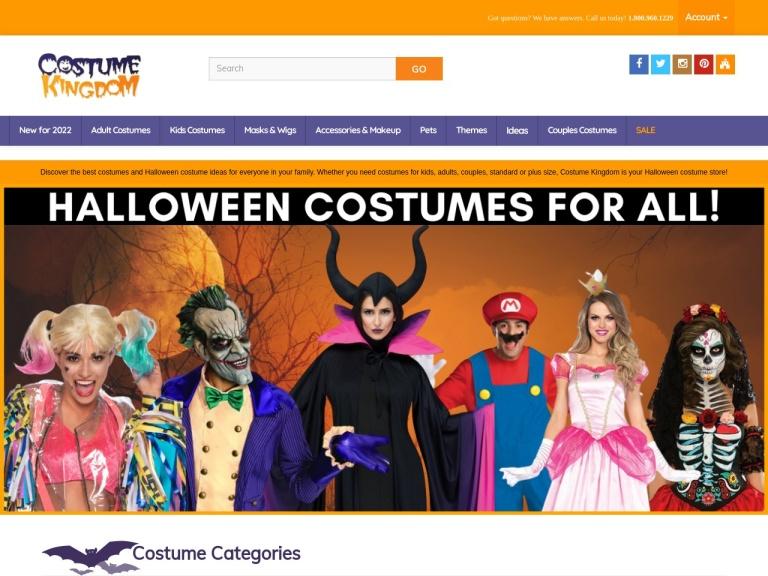 CostumeKingdom.com Coupon Codes