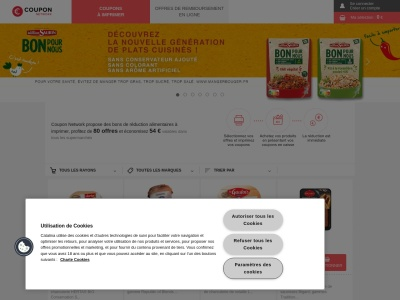 Coupon Network : bons de réduction