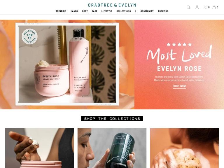 Crabtree & Evelyn, Ltd screenshot