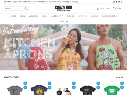 Crazy Dog Tshirts screenshot
