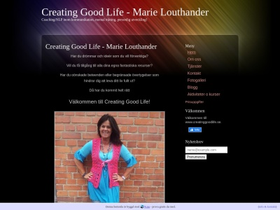 www.creatinggoodlife.se