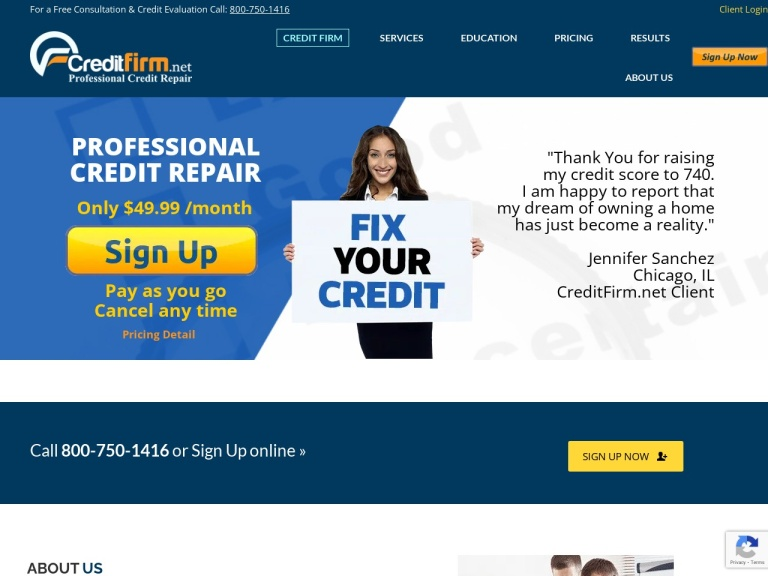 CreditFirm.net Coupon Codes
